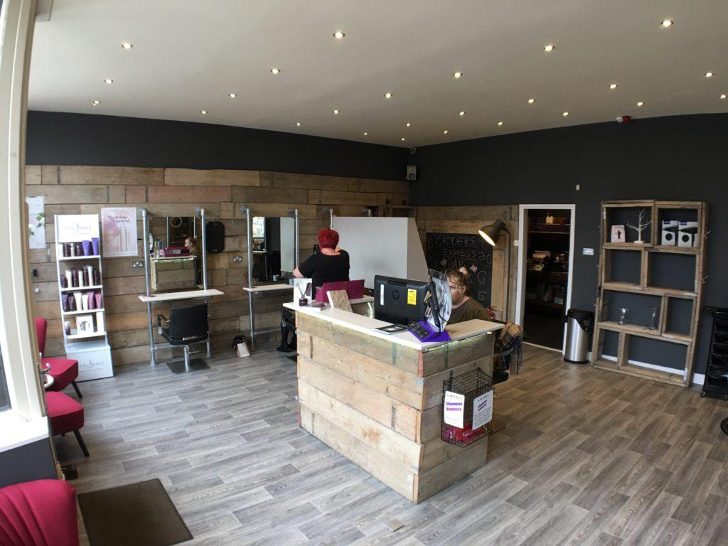 Inside our salon